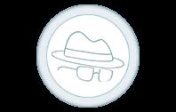 L'icona dimostra come The Foreign Friend consideri la riservatezza un'assoluta priorità nelle traduzioni professionali.