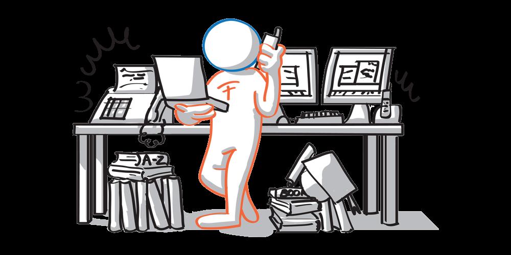 Il traduttore affidabile senior ha una laurea, una ricchissima raccolta di glossari e libri di studio, così tanti clienti fissi che bisogna prenotarsi ed un arsenale di strumenti tecnologici.