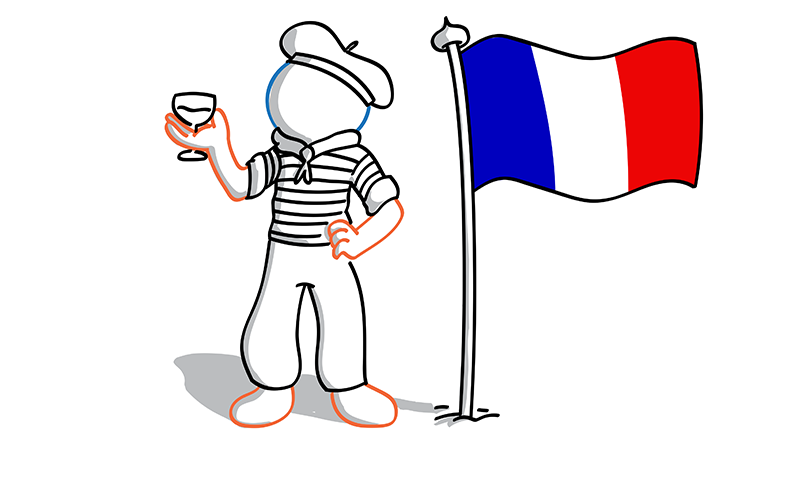 The Foreign Friend engages with the French culture to produce English-French translations